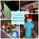 6 чудесных зимних занятий для детей