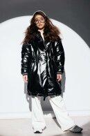 Обзор оверсайз-пальто ЗС-921 из стильной эко-кожи для девочки